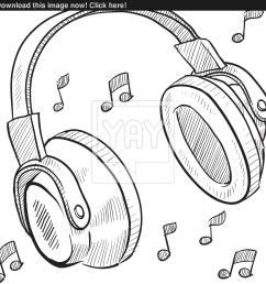 1577x1600 audio headphones sketch vector audio sketch [ 1577 x 1600 Pixel ]