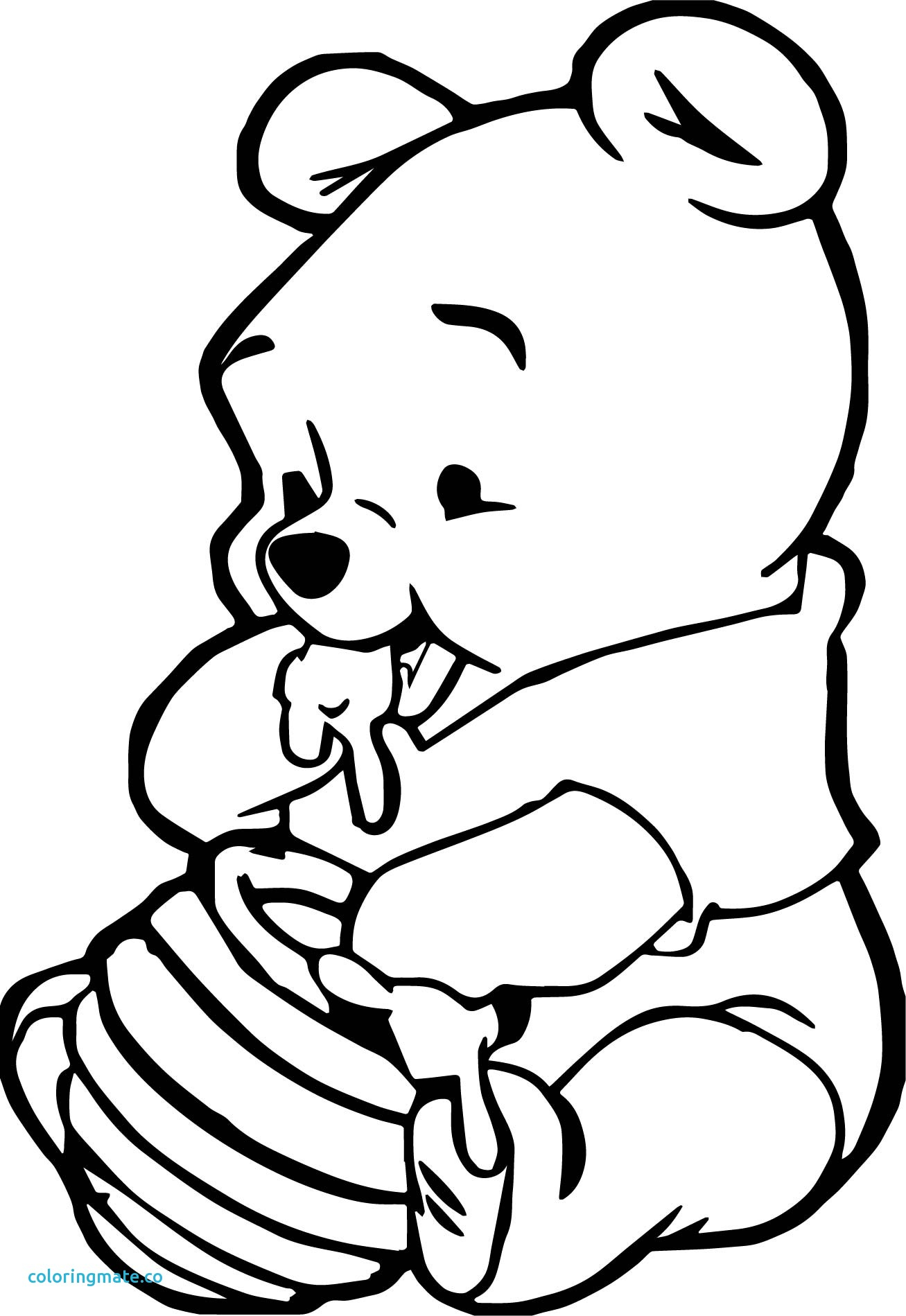 Baby Pooh Sketch At Paintingvalley