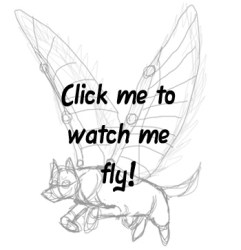 Cute Drawings Of Wolves With Wings