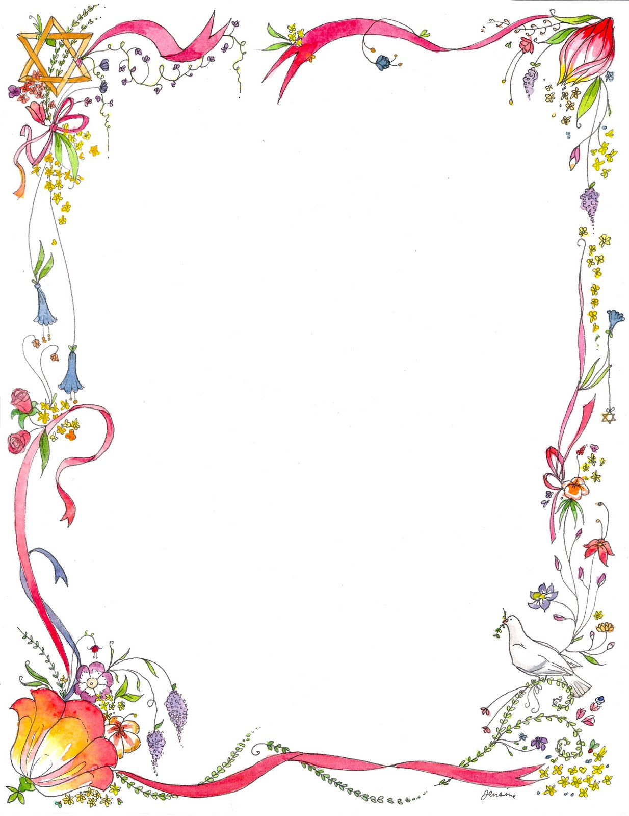 Before beginning the design phase of a job, it is helpful to create a graphic design project outline. Border Design For Project Cerel