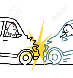 1300x633 cartoon car accident pictures gallery images car crash sketch [ 1300 x 633 Pixel ]