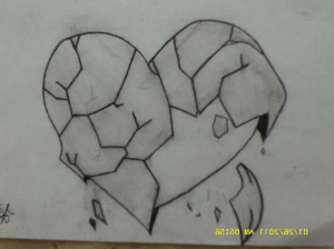 drawings easy heart pencil sketches graffiti sketch depression broken drawing heartbreak sad cool sadness draw tag beginners paintingvalley designs explore