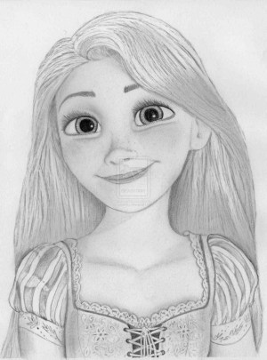 disney pencil drawing sketches sketch deviantart rapunzel princess drawings tangled easy elsa disegni characters princesses awesome painting paintingvalley explore character