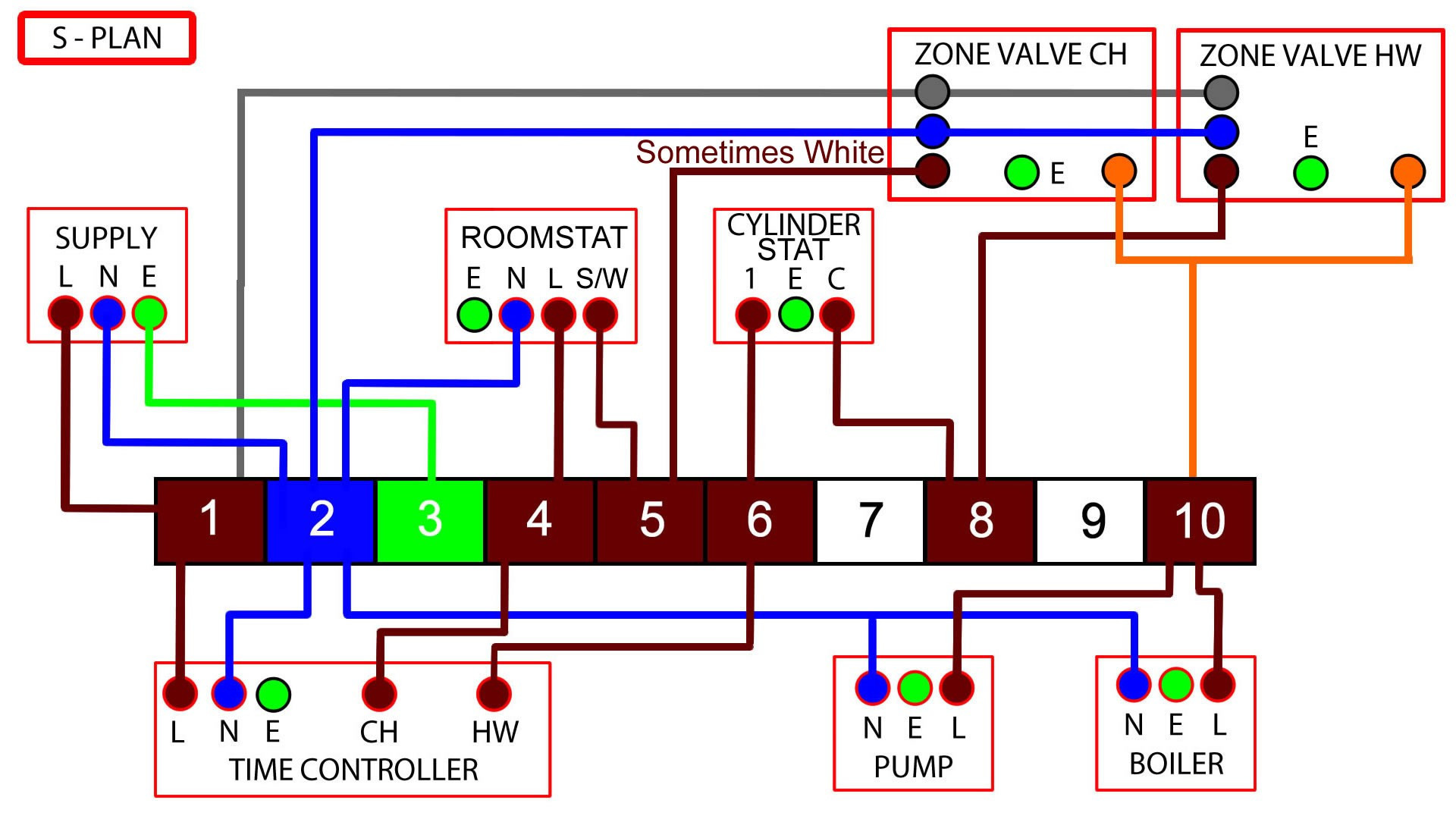 hight resolution of 1920x1080 wiring diagram for s plan heating system new unique s plan wiring electrical sketch