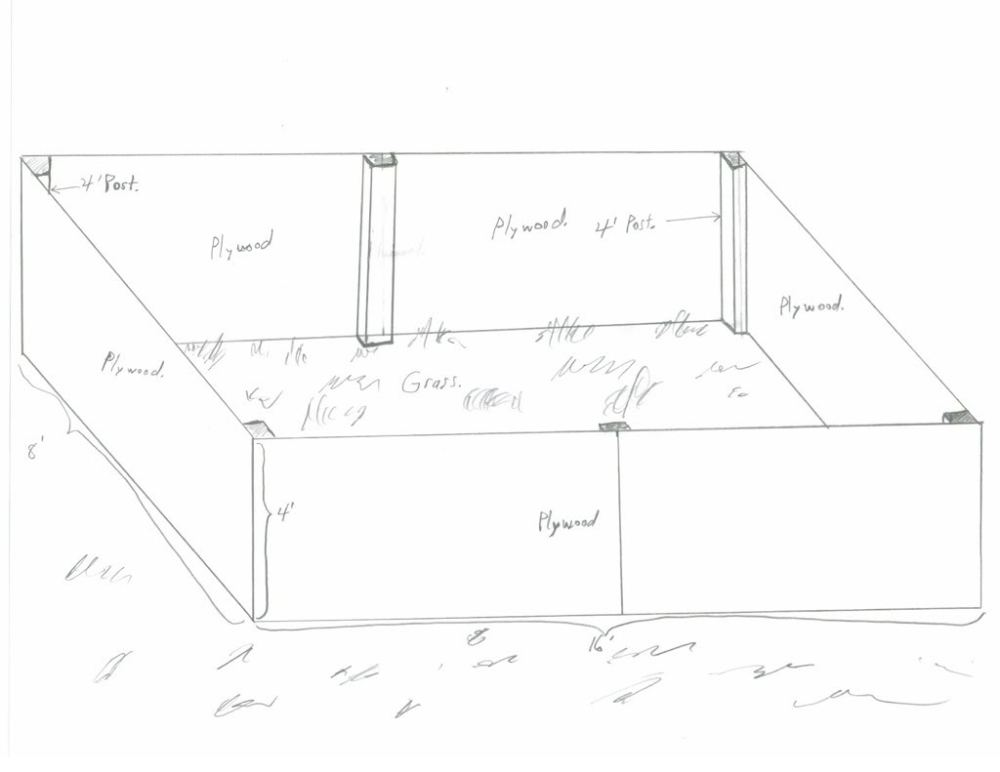 medium resolution of 1024x791 large wooden framed liner pond can this work fish pond sketch