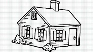 drawing easy simple pencil sketch basic drawings cottage draw roof 3d paintingvalley pucca sketches perspective getdrawings modern paper minimalist explore