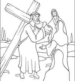 1250x1618 collection of coloring pages of jesus carrying the cross jesus carrying the cross sketch [ 1250 x 1618 Pixel ]