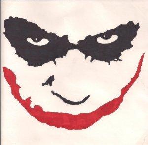 joker face drawing easy sketch pencil drawings getdrawings simple gambar sketches theunlawyer keren deviantart town under