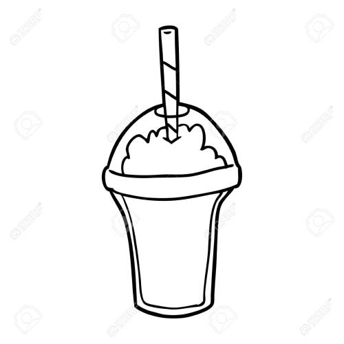 small resolution of 1300x1300 milkshake clipart hand drawn frames illustrations hd images milkshake sketch