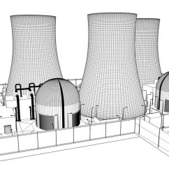 nuclear power plant sketch [ 1024 x 768 Pixel ]