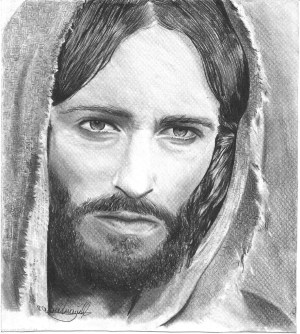 jesus pencil christ face drawing drawings sketch realistic easy drawingartpedia draw paintings paintingvalley sketches 3d