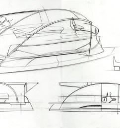 1600x994 designby11 solar electric pontoon boat design pontoon boat sketch [ 1600 x 994 Pixel ]