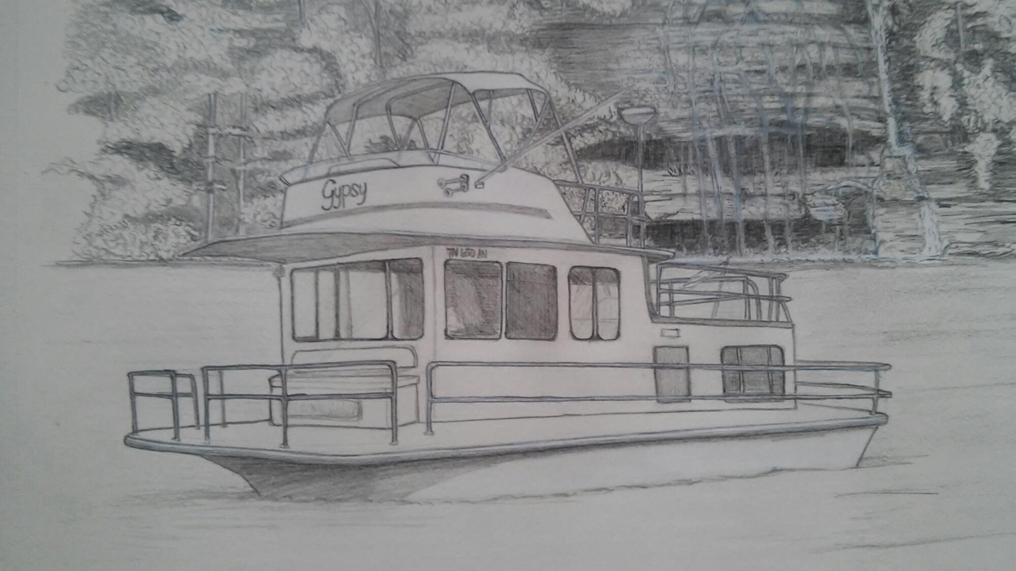 hight resolution of 2000x1125 sketch encompassingchaos pontoon boat sketch