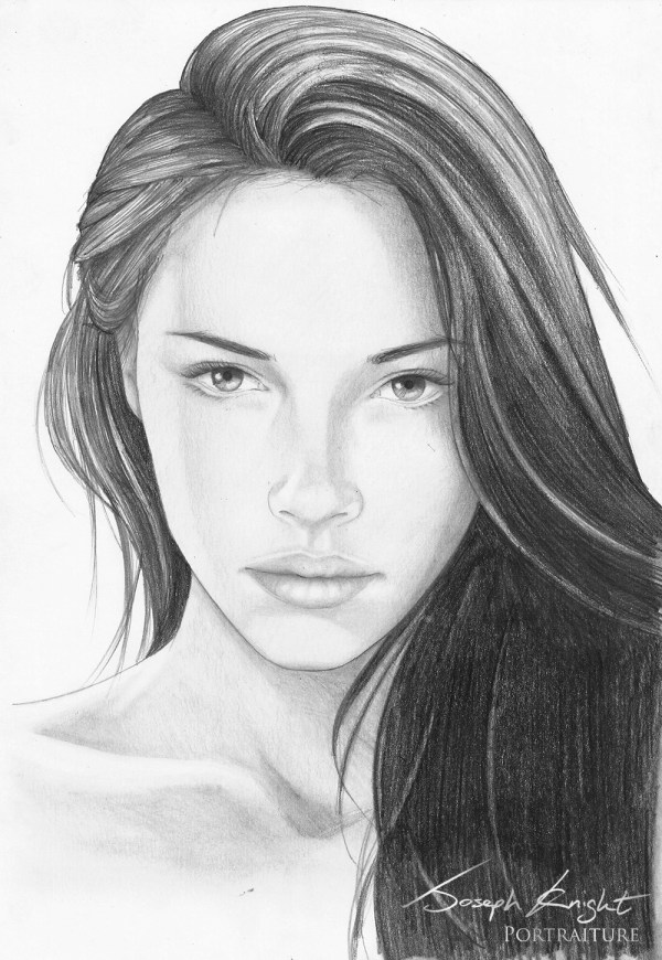 Realistic Girl Sketch Explore Collection Of