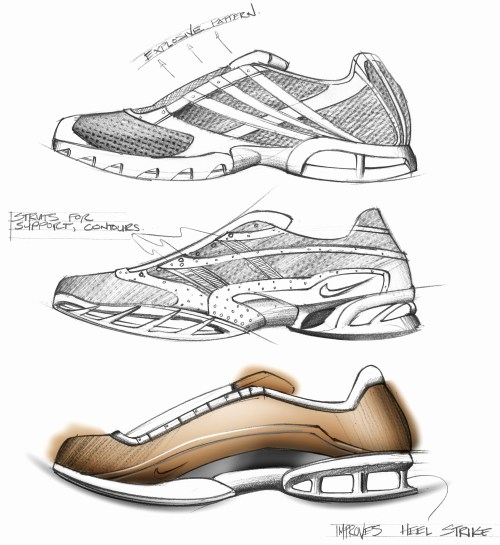 small resolution of 2384x2600 sketches of shoes running shoes sketches by dat dang running shoes sketch