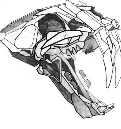 960x960 connor wallace christensen saber tooth tiger sketch [ 960 x 960 Pixel ]