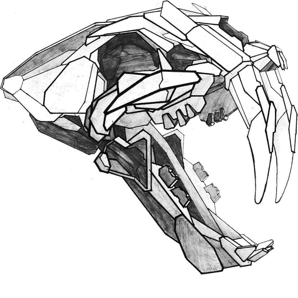 medium resolution of 960x960 connor wallace christensen saber tooth tiger sketch