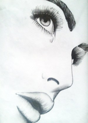 pencil sketch sadness sad easy sketches drawings drawing beginners paintings paintingvalley drawingsketch101