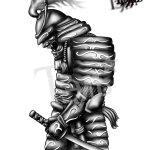 Samurai Tattoo Sketch At Paintingvalley Com Explore Collection Of Samurai Tattoo Sketch