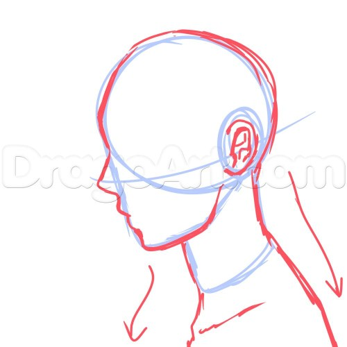 small resolution of 1000x1000 drawing face profile cartoon gallery side face drawing cartoon side profile face sketch