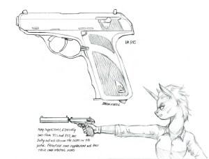 gun simple sketch paintingvalley sketches
