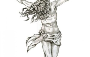 jesus cross drawing designs simple drawings sketch tattoo christ tattoos clip clipart sketches cliparts paintingvalley library vector things favorites