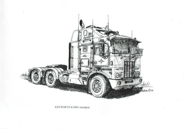 Kenworth paintings search result at PaintingValley.com