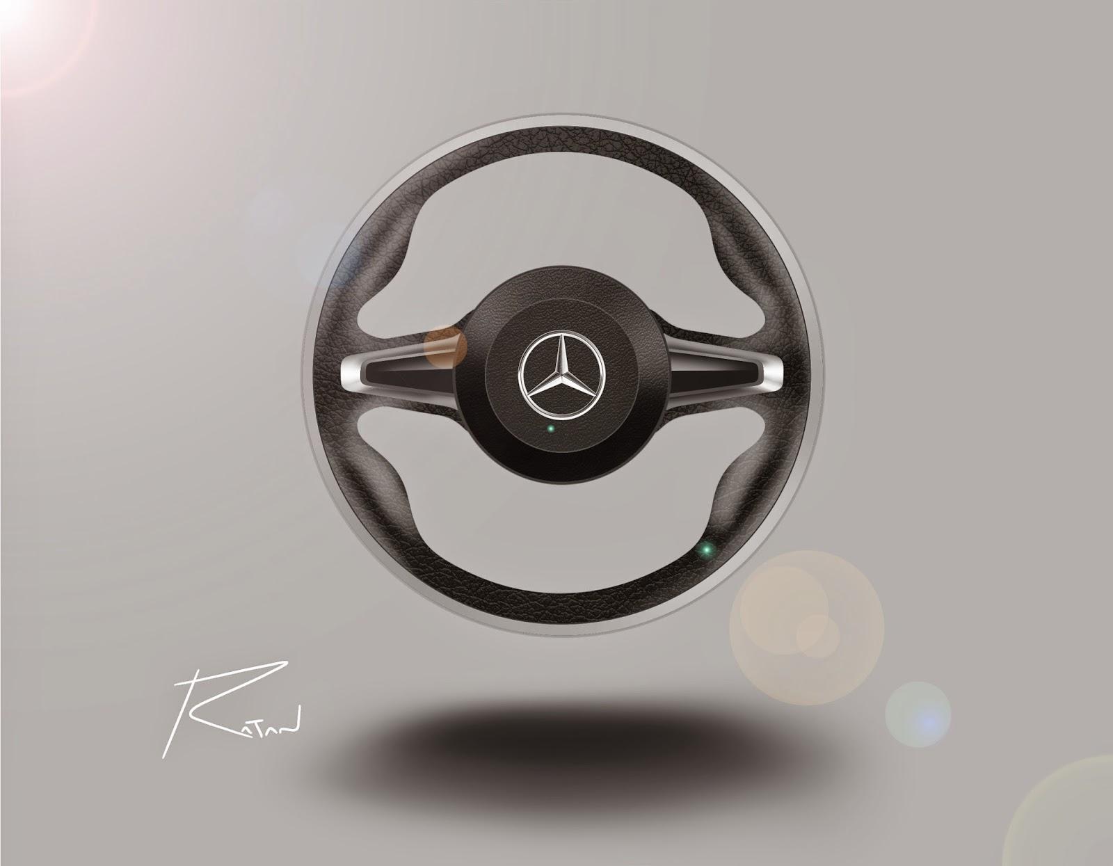 steering wheel sketch at