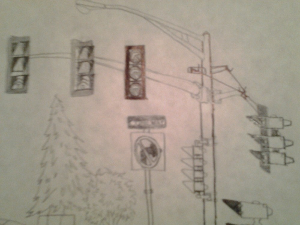 medium resolution of 1024x768 3m model 131 traffic lights drawing and a complex stop light sketch