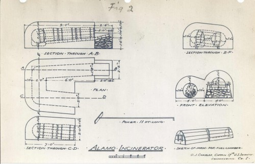 small resolution of 1600x1029 alamo incinerator circulating now from nlm the alamo sketch