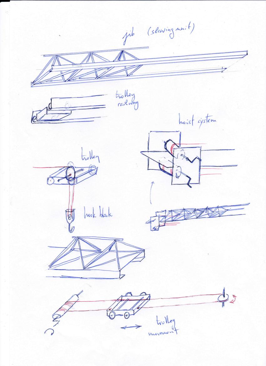 hight resolution of 850x1167 technoscience 2020 tower crane tower crane sketch