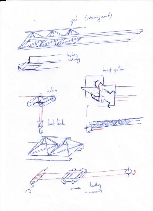 small resolution of 850x1167 technoscience 2020 tower crane tower crane sketch