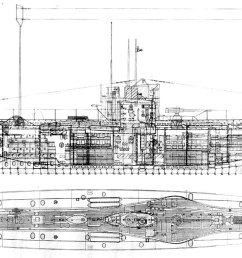 1996x791 the first battle of the atlantic the arts mechanical u boat sketch [ 1996 x 791 Pixel ]