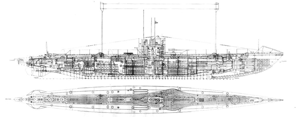 medium resolution of 1996x791 the first battle of the atlantic the arts mechanical u boat sketch