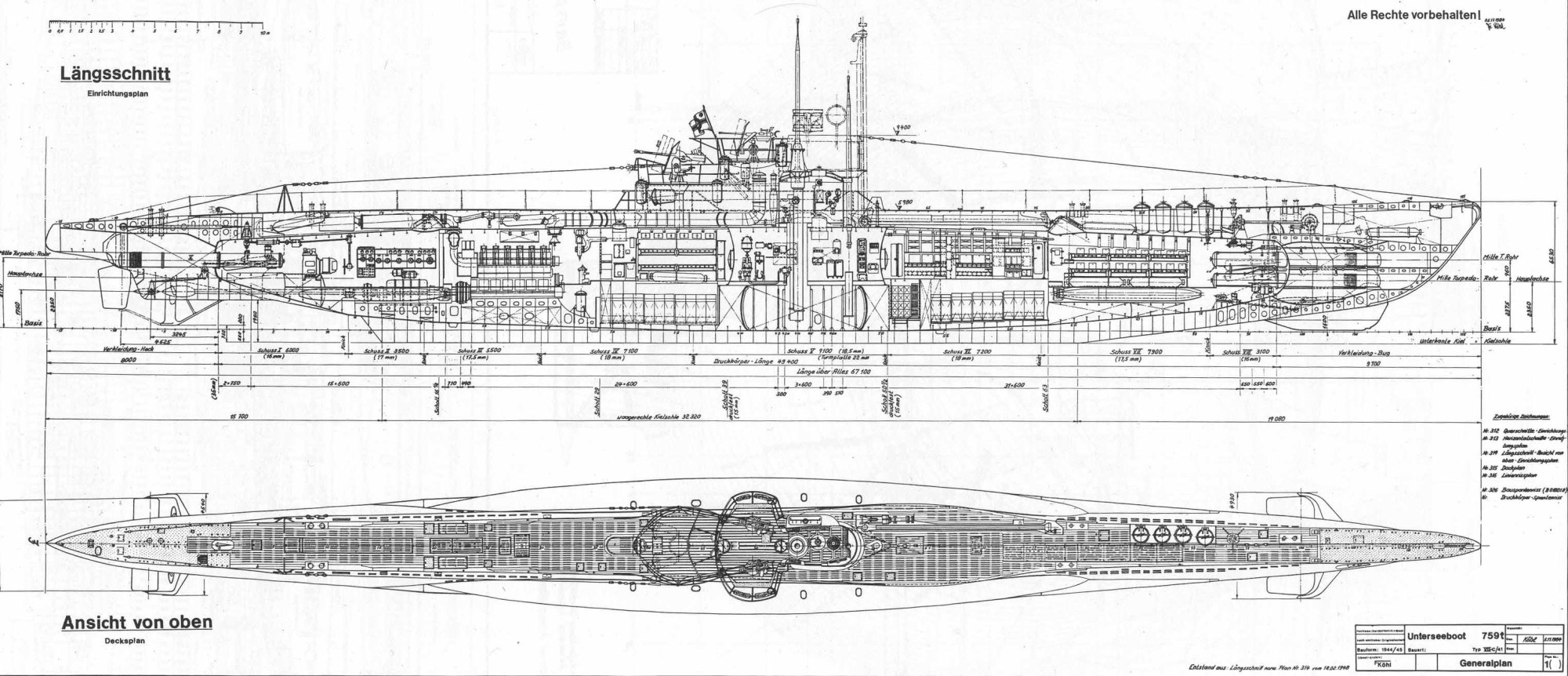 hight resolution of 3048x1315 u boat type vii c technical drawings and layout u boat sketch