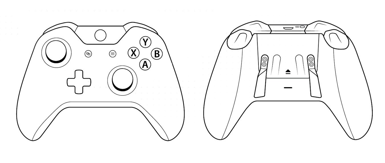 Xbox Controller Drawing Easy