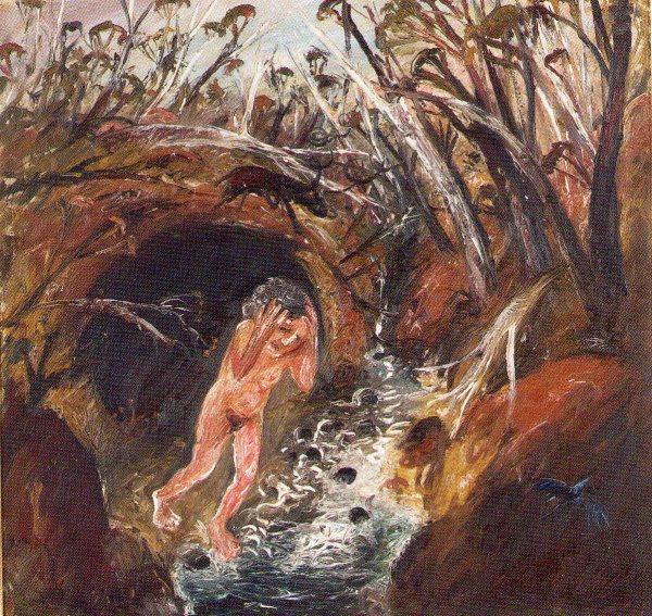 Arthur Boyd Paint Painter'