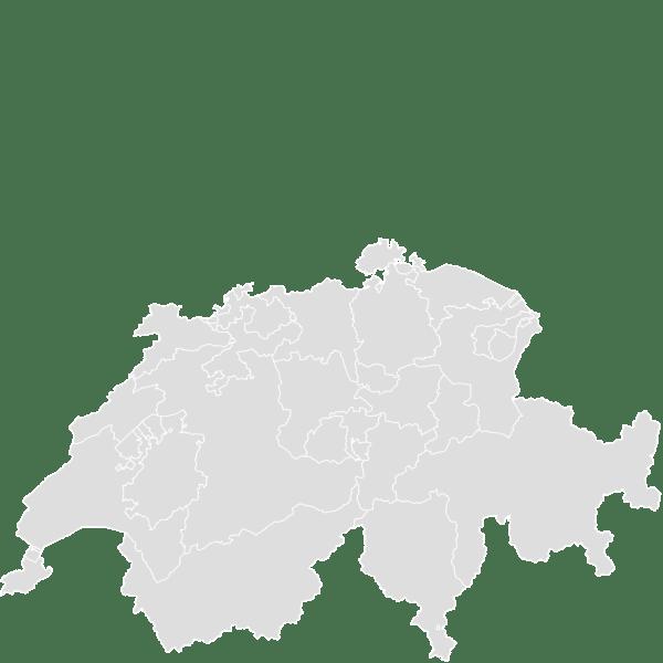 SWITZERLAND Blank Map Maker Printable Outline Blank