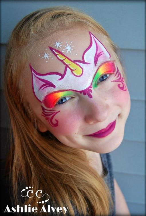 Simple Easy Unicorn Face Paint : simple, unicorn, paint, Unicorn, Inspiration!