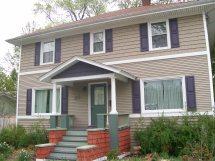 American Foursquare Exterior House Paint Colors