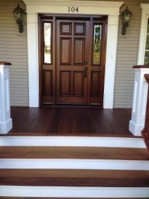 Refinishing Of Ipe Wood Front Porch Floor