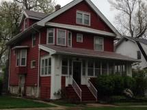 Color Scheme American Four-square House