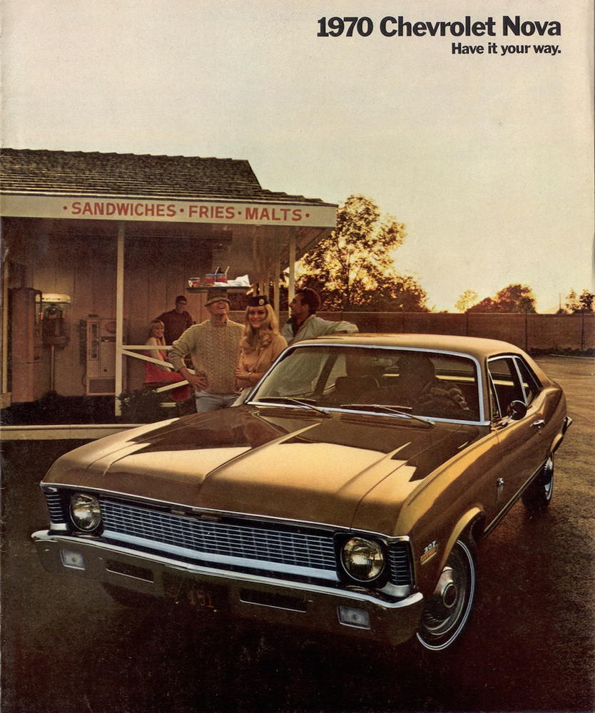 1960 Chevy Nova Brochure