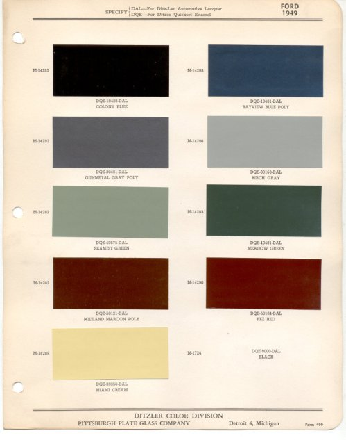 small resolution of 1949 harley davidson paint colors