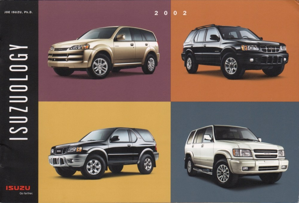 medium resolution of brochures are presented for research use only company marks emblems and designs are trademarks and or service marks of isuzu