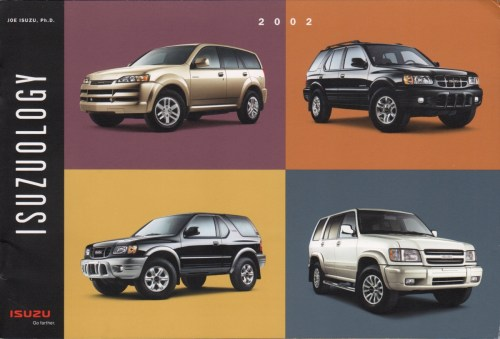 small resolution of brochures are presented for research use only company marks emblems and designs are trademarks and or service marks of isuzu