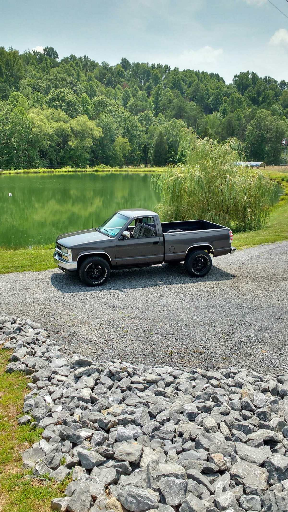 Charcoal Grey Truck : charcoal, truck, Chevy, Truck, Silverado, Paint, Cross, Reference