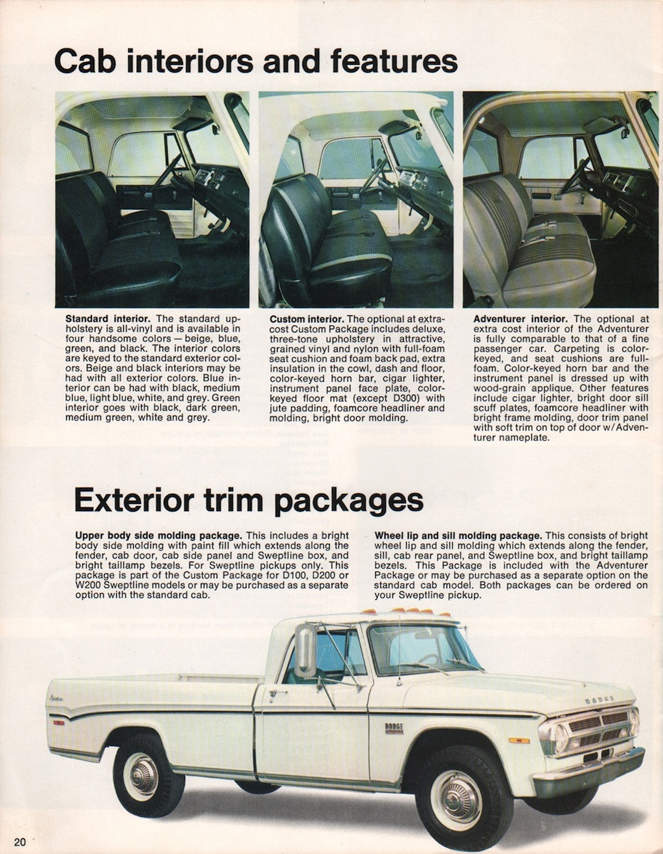 Chrysler Motor Home Sales Brochure