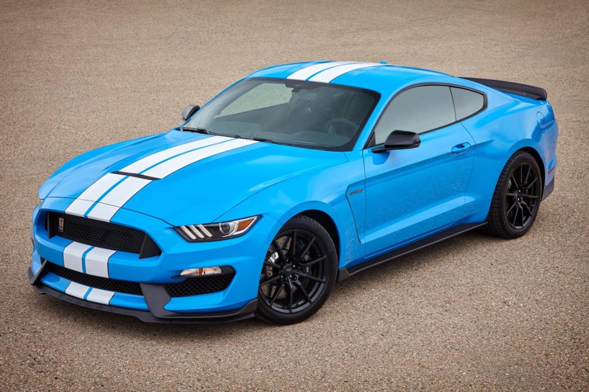 Grabber Blue 2017 Mustang  Paint Cross Reference