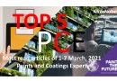 Top 5 Most read articles from 1-7 March, 2021 on Paints and Coatings Expert
